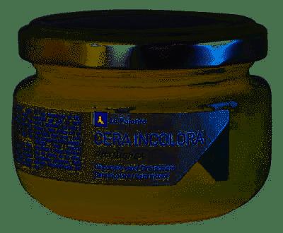 La Pajarita Cera solida incolora 100ml