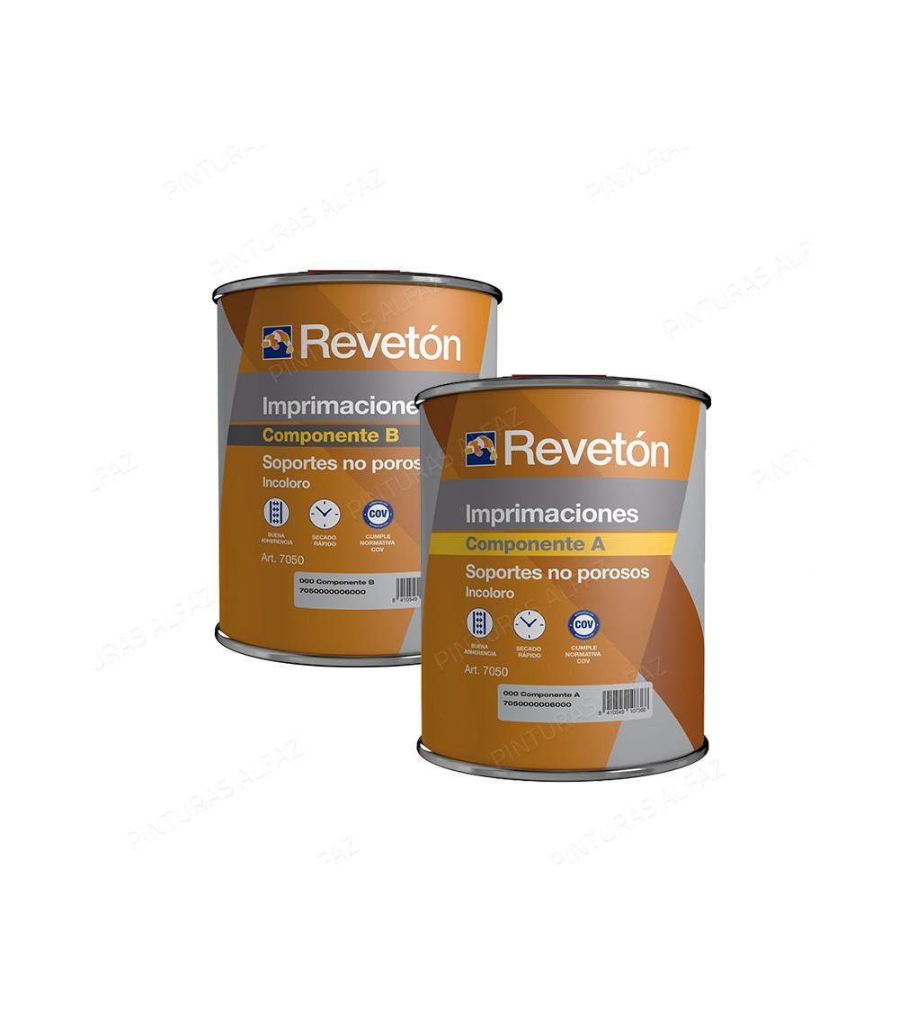 Revetón Imprimación para  soportes no porosos 2L (1L+1L)