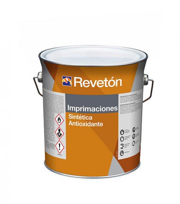 Revetón Imprimación sintética antioxidante blanco  4 L