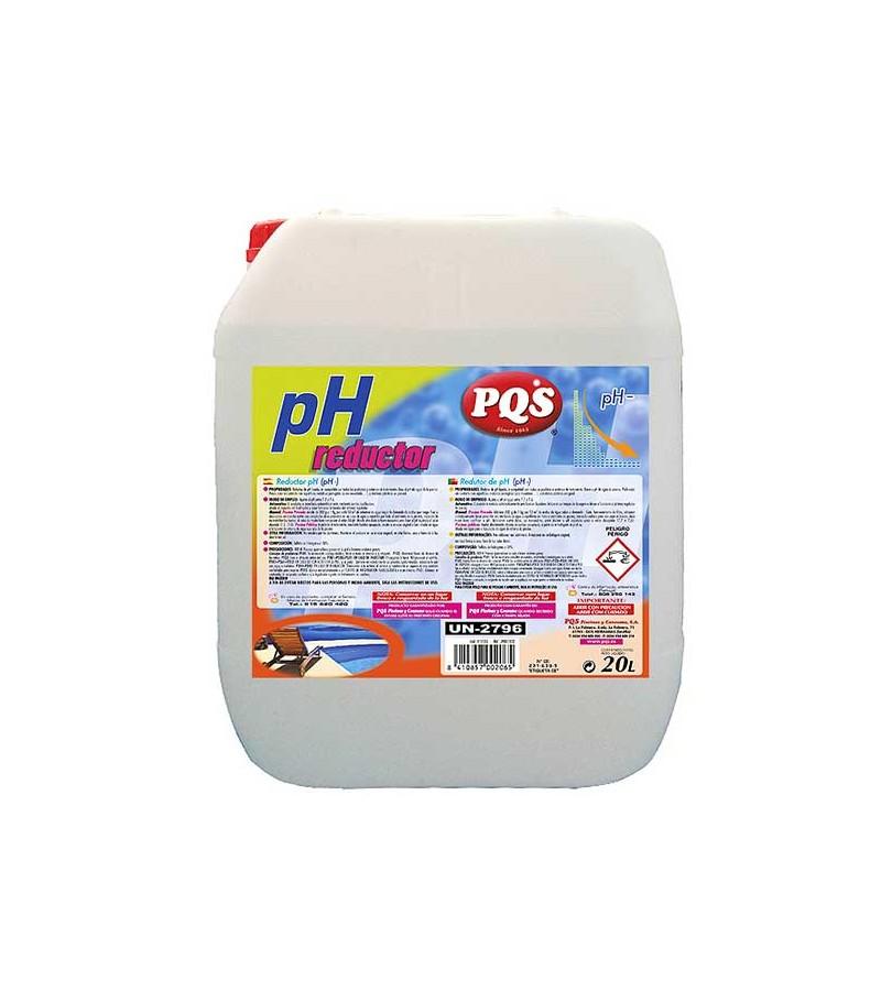 PQS Reductor PH especial salinas 20L