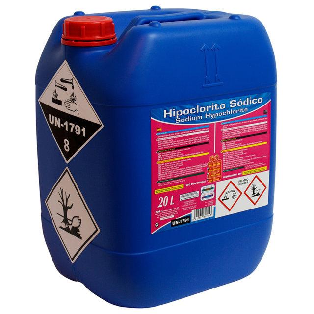 PQS Hipoclorito sódico (cloro líquido) 10L