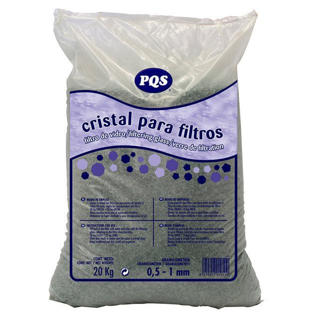 Cristal para filtro 05-1mm 20kg