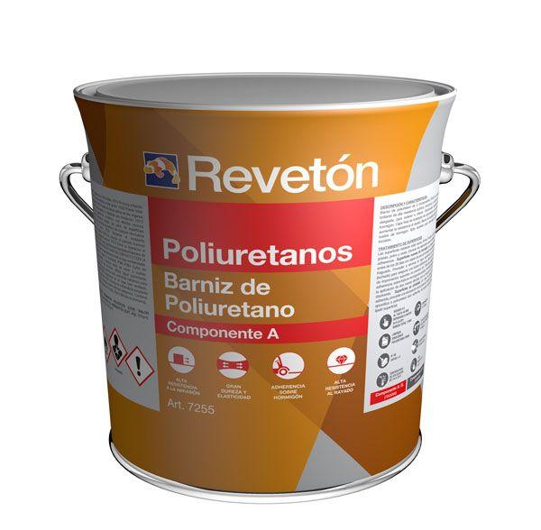Revetón Barniz de poliuretano 2 componentes 4 L (A+B)