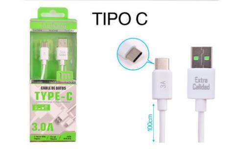 1M 3A TYPE C大电流数据线原货号360216