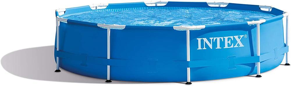 Intex Piscina con estructura metálica - piscina elevada - Ø 305 x 76 cm