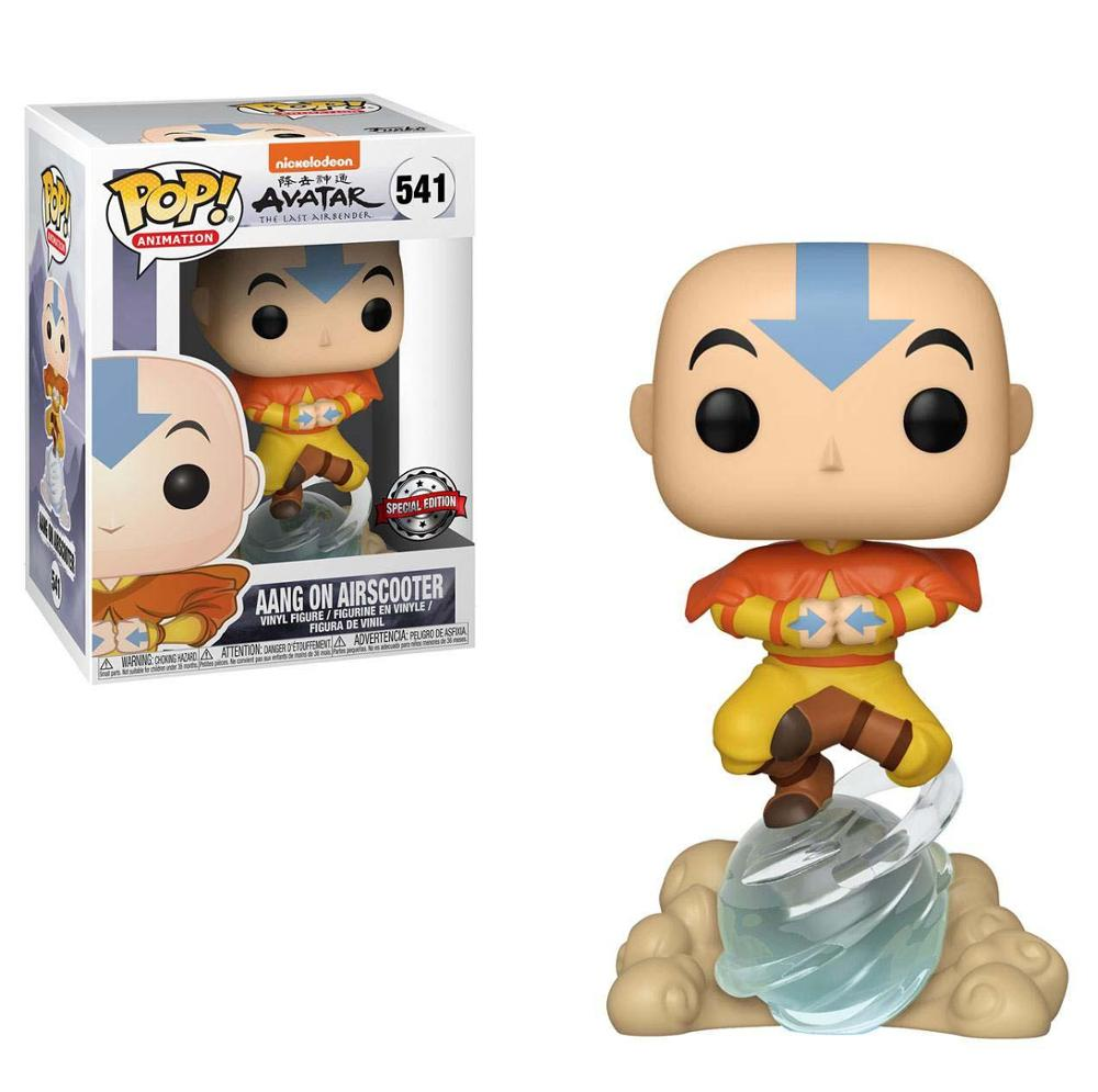 Aang on Airbubble