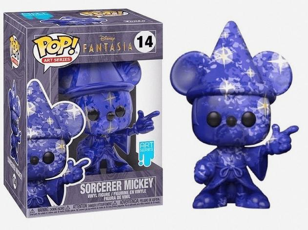 Mickey Artist Series