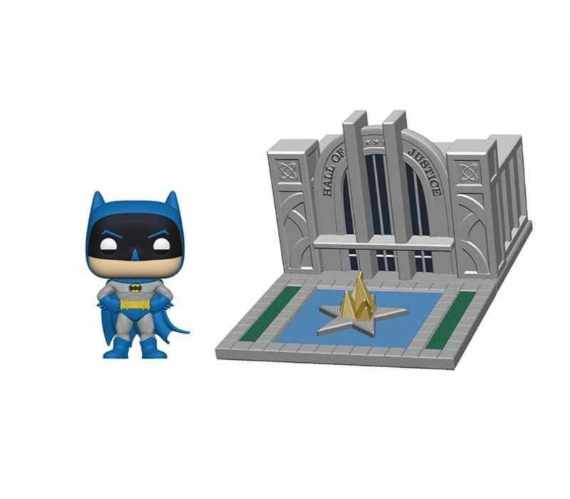 Batman en salon de la justicia