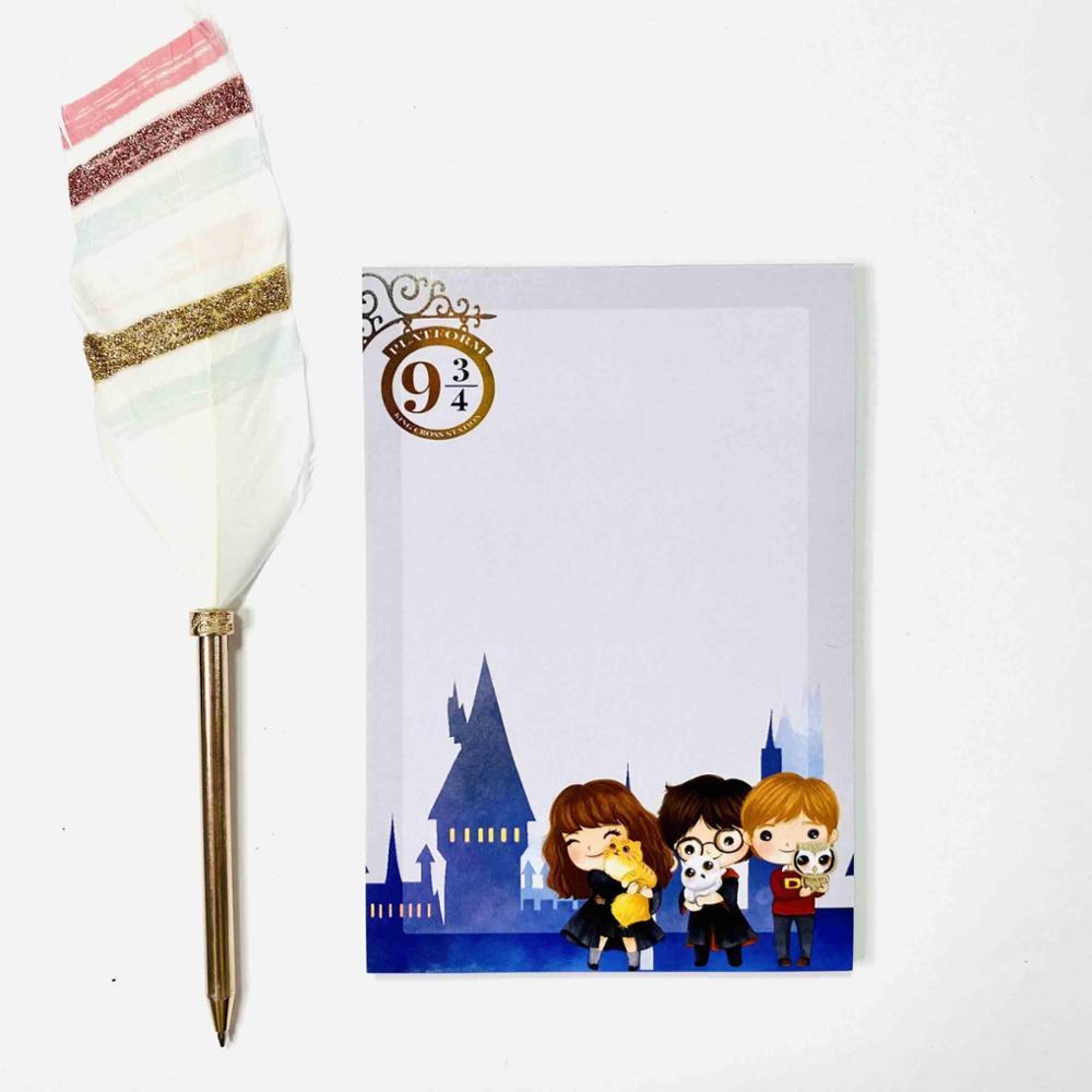 Bloc de notas de Hermione, Harry y Ron