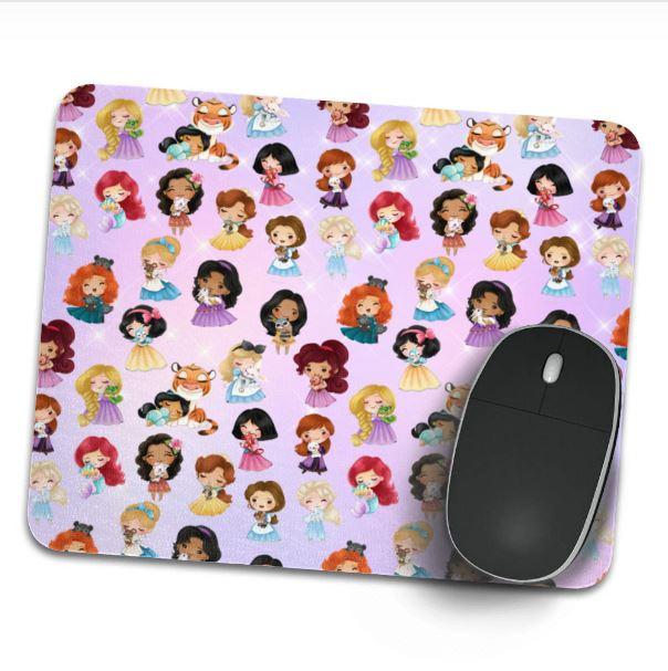 Alfombrilla de raton Princesas Disney