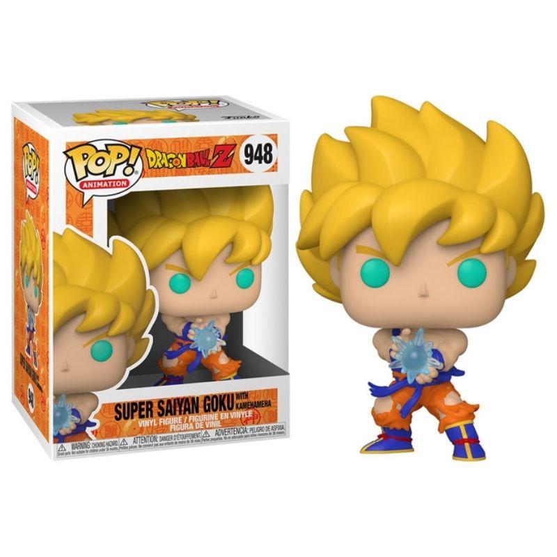 Super Saiyan Goku Kamehameha