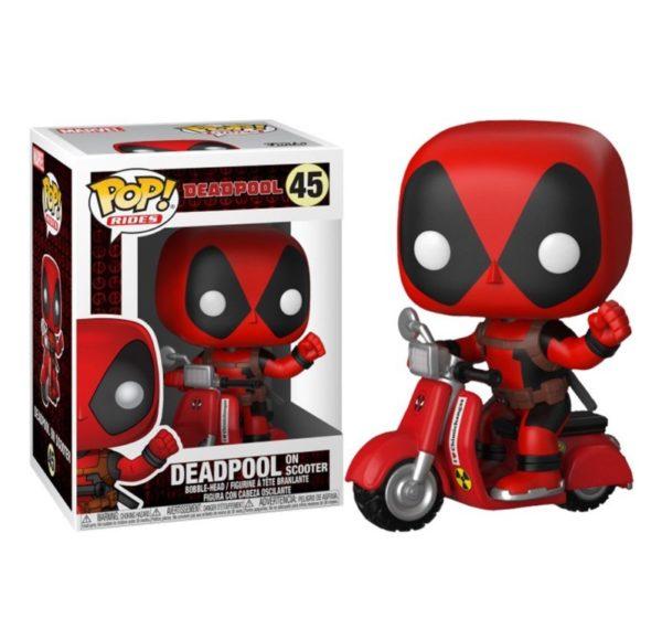 Deadpool en moto