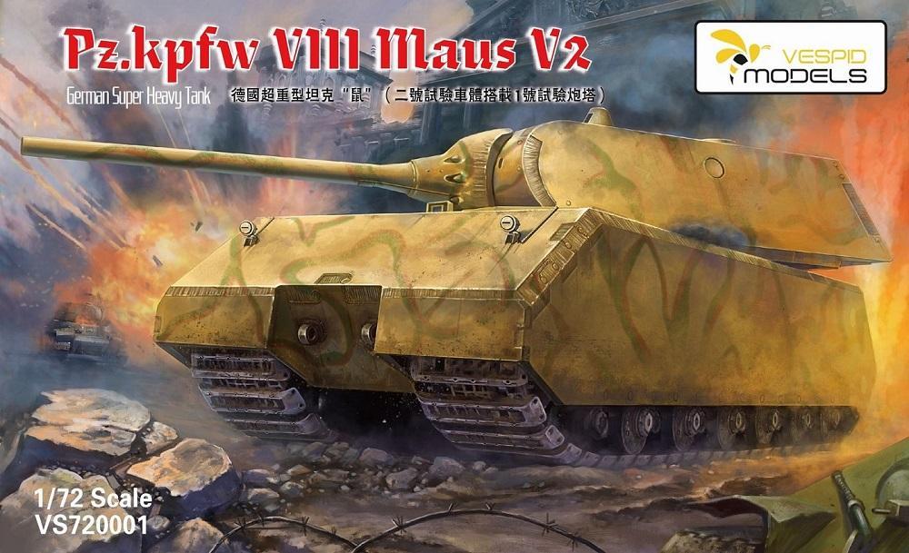 VESPID MODELS German Heavy Tank Pz.Kpfw.VIII 'Maus' V2