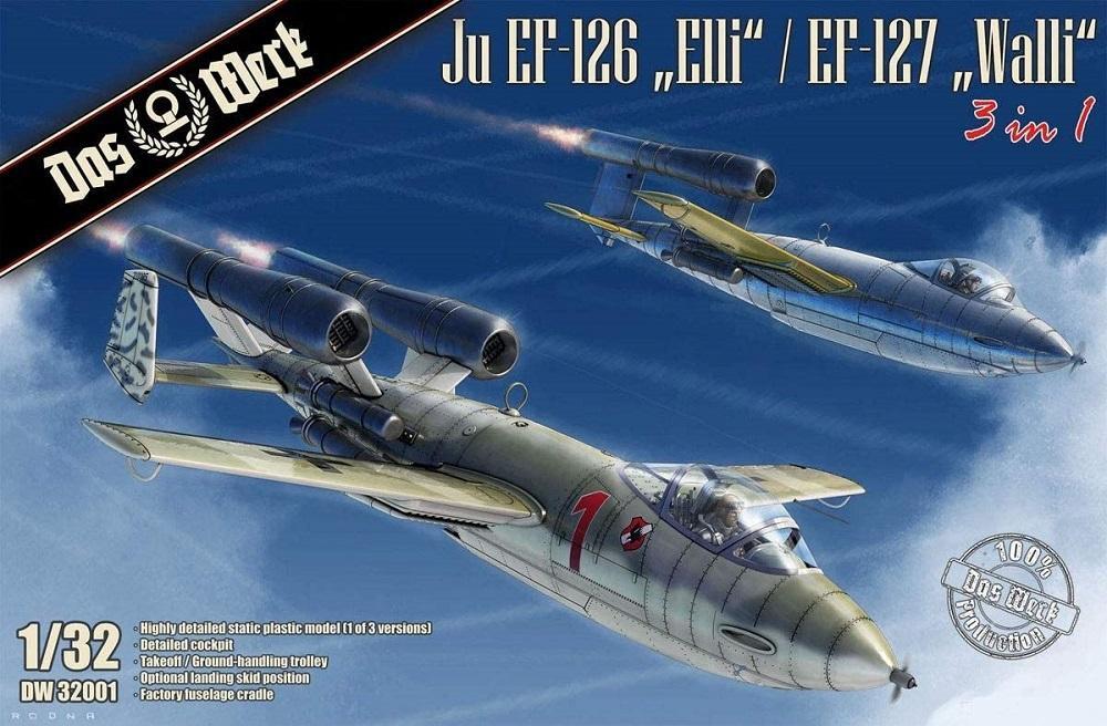 DAS WERK MODELS 32001 Junkers Ju EF-126 'Elli' / Ju EF-127 'Walli'