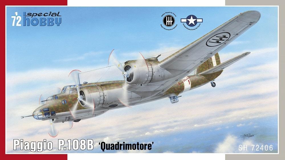 SPECIAL HOBBY 72406 Piaggio P.108B 'Quadrimotore'
