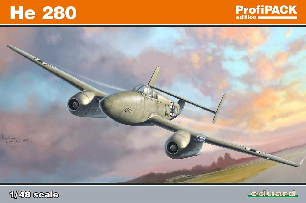 EDUARD 8068 Heinkel He 280 (WWII)