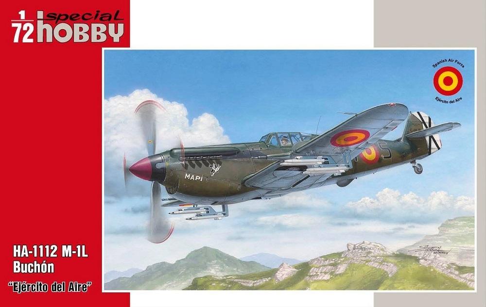 SPECIAL HOBBY 72308 Hispano-Aviación HA-1112M-1L 'Buchón' (Ejército del Aire)
