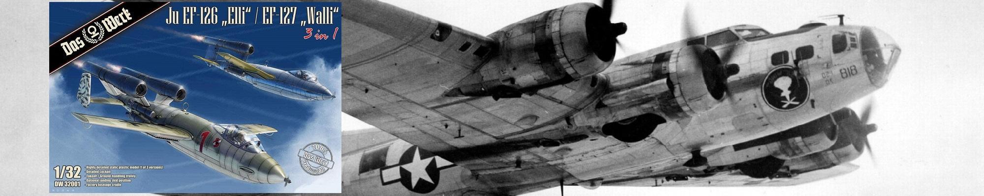 DAS WERK DW32001 Junkers Ju EF-126 'Elli' / Ju EF-127 'Walli'
