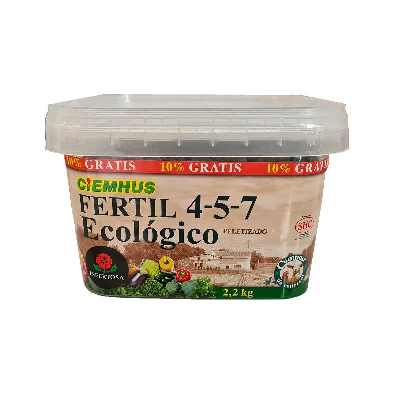Infertosa CIEMHUS FERTIL 4-5-7 ECOLOGICO PELETIZADO 2kg
