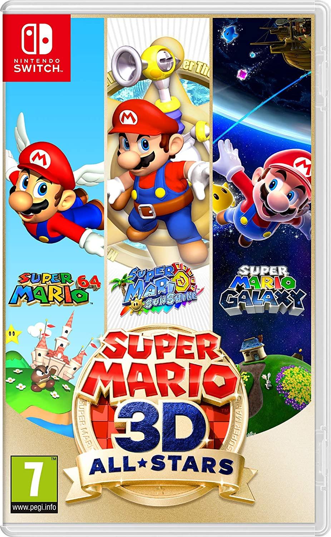 NINTENDO JUEGO SUPER MARIO 3D ALL-STARS