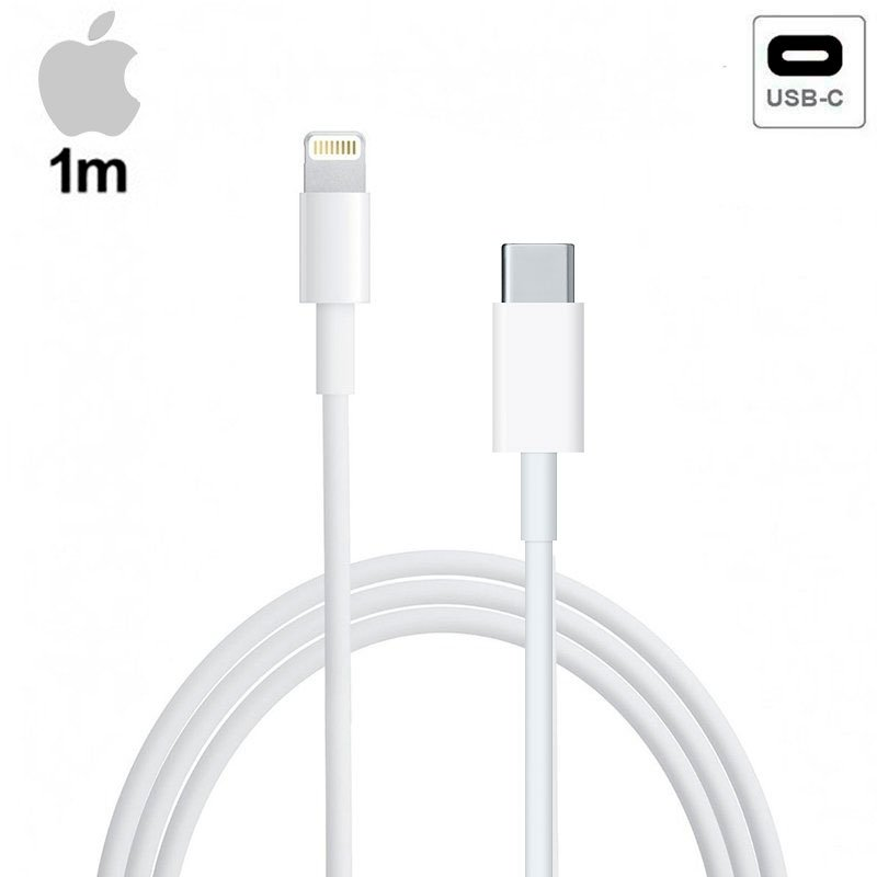 APPLE CABLE USB ORIGINAL IPHONE 11 / 11 PRO / 11 PRO MAX A TIPO C (SIN BLISTER)