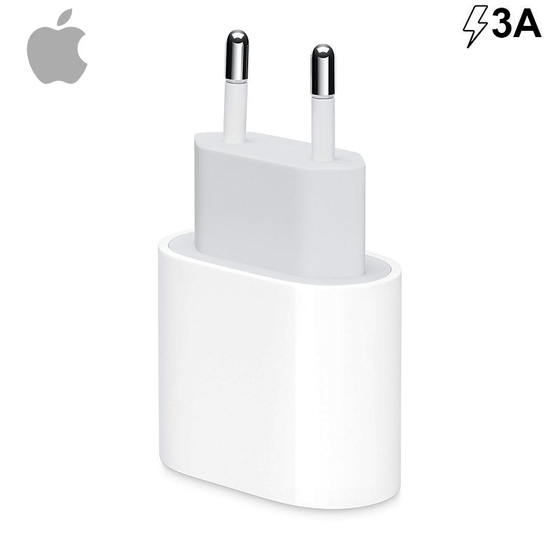 APPLE CARGADOR ORIGINAL APPLE (SOLO ADAPTADOR) TIPO C 18W (SIN BLISTER)