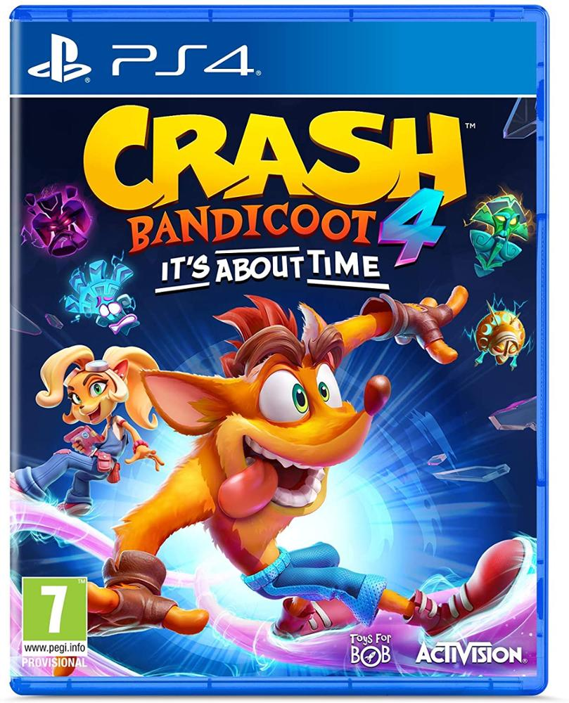 PS4 JUEGO CRASH BANDICOOT 4: IT'S ABOUT TIME
