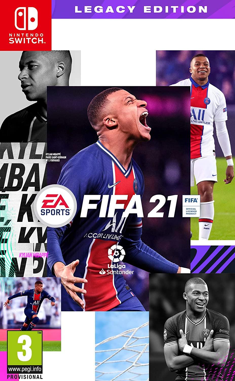 NINTENDO JUEGO FIFA 21 LEGACY ED.
