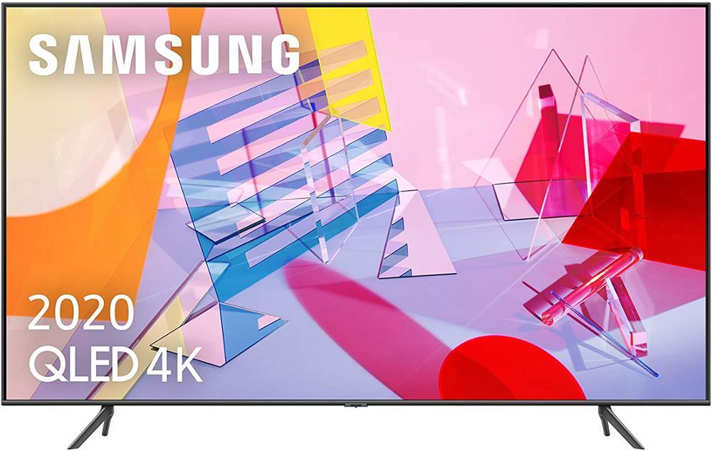 "SAMSUNG TELEVISOR QE65Q60T 65"" 4K UHD QLED SMART TV"