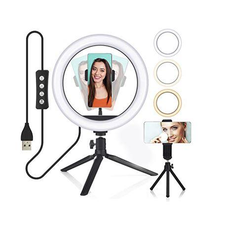 DIGIVOLT Anillo Led Regulable para Selfie con Tripode AL-4462