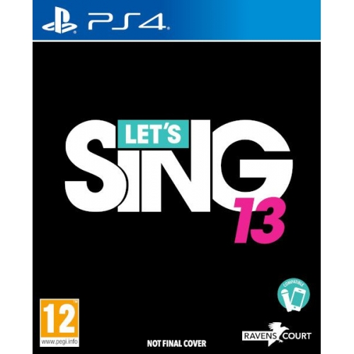 PS4 JUEGO Let's Sing 13 (PREVENTA)