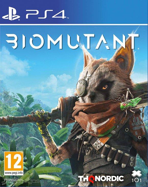PS4 JUEGO Biomutant (PREVENTA)