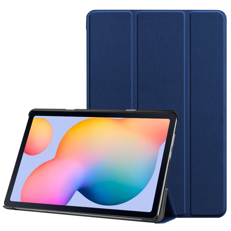 "COOL Funda Samsung Galaxy Tab S6 Lite (P610 / P615) Polipiel Azul 10.4"""