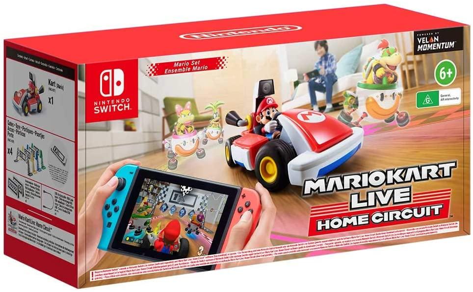 NINTENDO JUEGO Mario Kart Live Home Circuit. Edición Mario