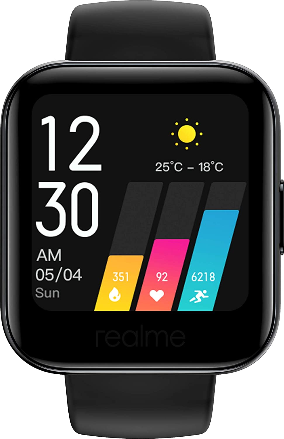REALME Watch Reloj Inteligente Smartwatch RMA161 - Negro