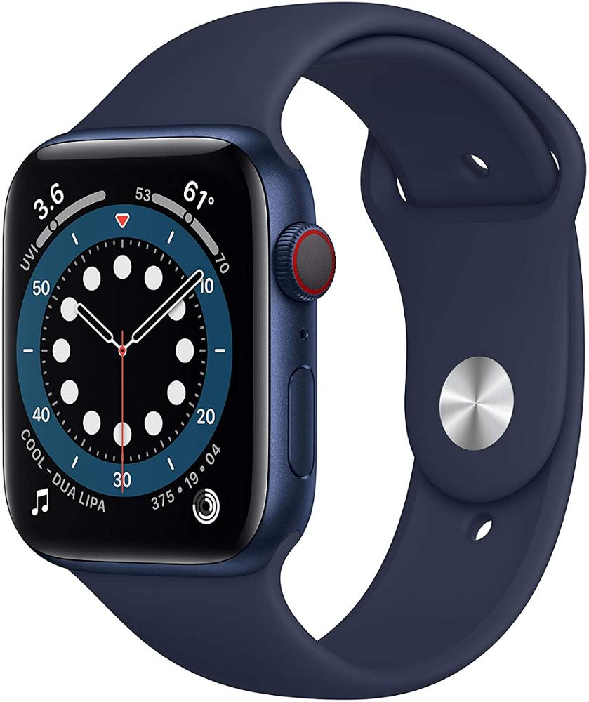 APPLE Watch Series 6 44mm GPS - Azul marino