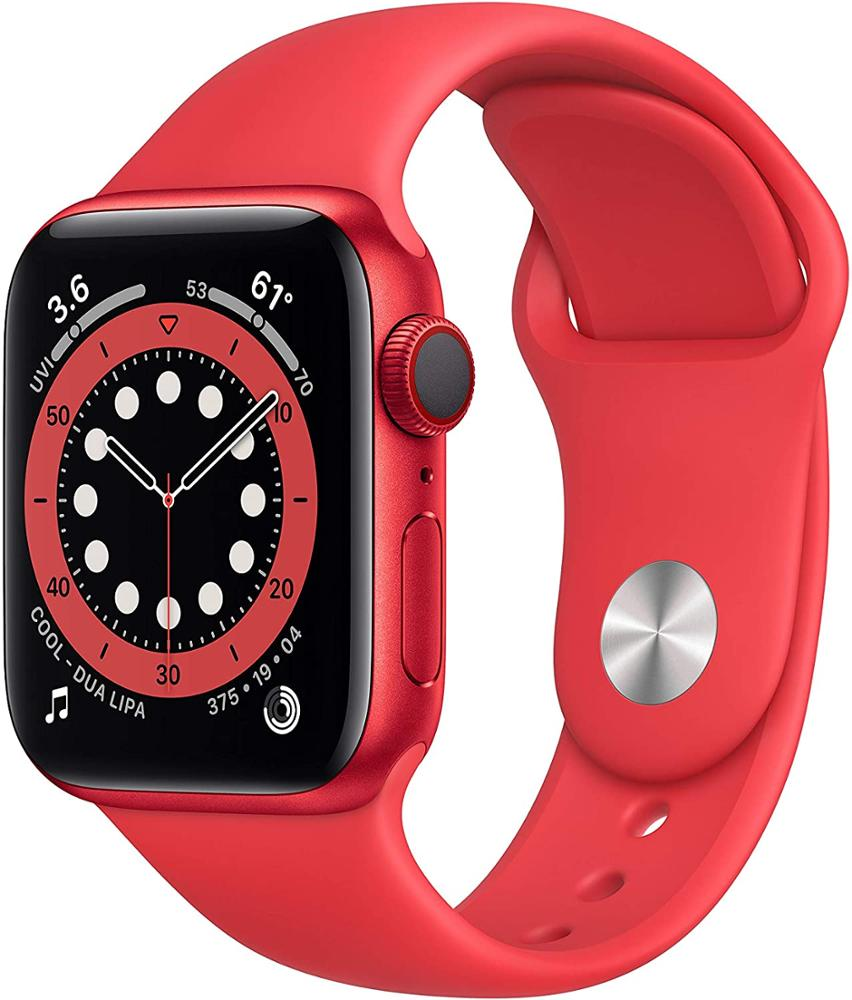 APPLE Watch Series 6 40mm GPs + Celular - Product Red - Rojo
