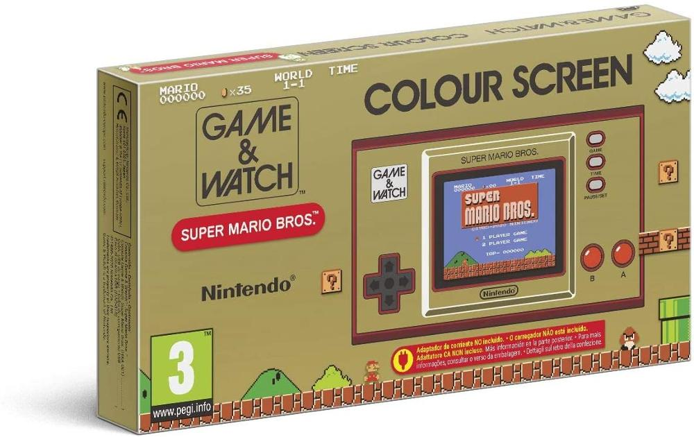 NINTENDO CONSOLA GAME & WATCH SUPER MARIO BROS