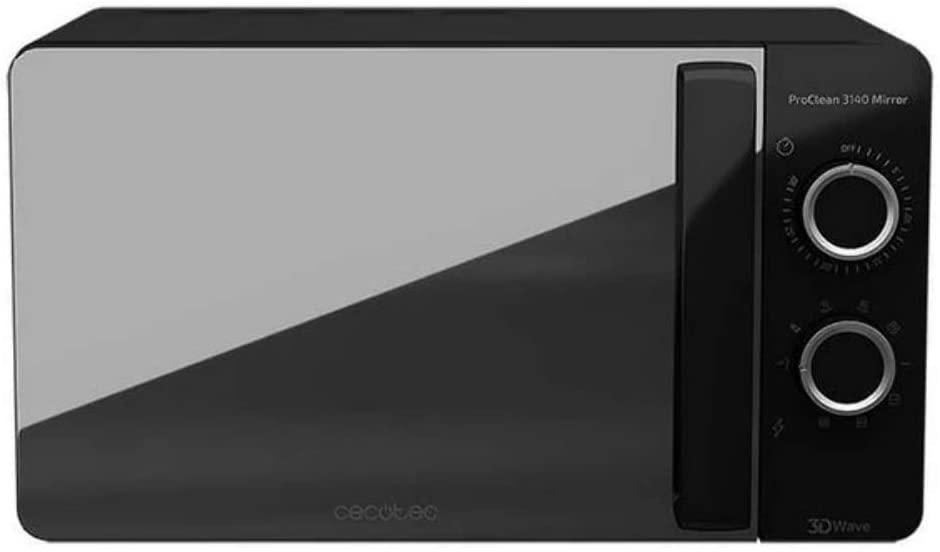 CECOTEC Microondas Proclean 3140 Mirror - Negro
