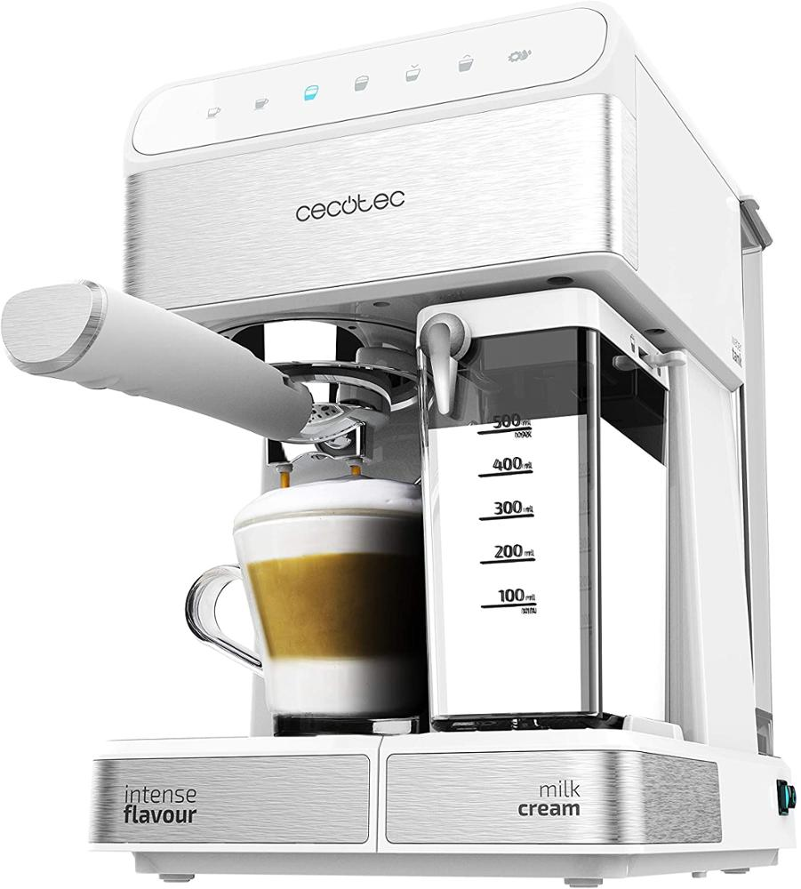 CECOTEC Cafetera Semi-Automática Power Instant-ccino 20 Touch Serie Bianca