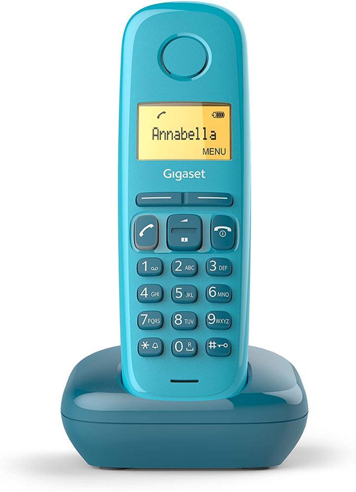 GIGASET Telefono Fijo Inalambrico A170 - Azul