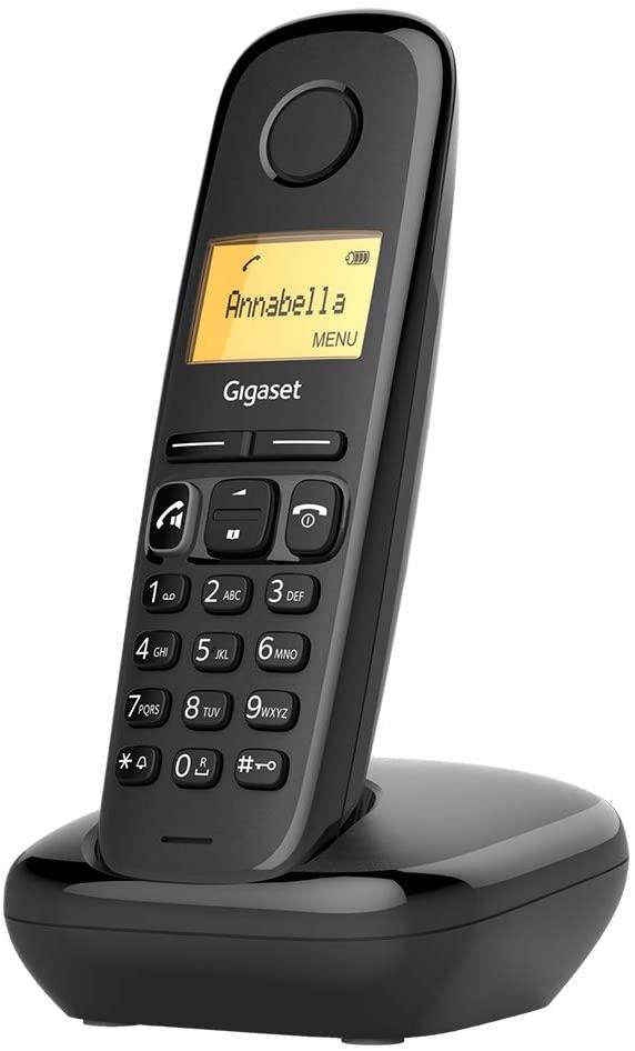 GIGASET Teléfono Fijo Inalámbrico A270 - Negro