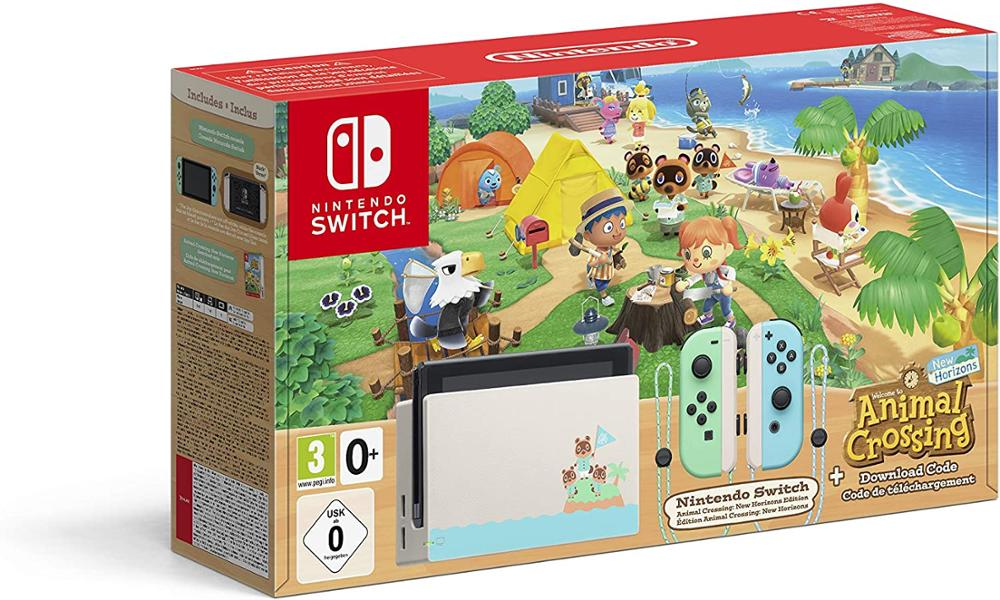 NINTENDO Consola Switch Edicion Animal Crossing New Horizons