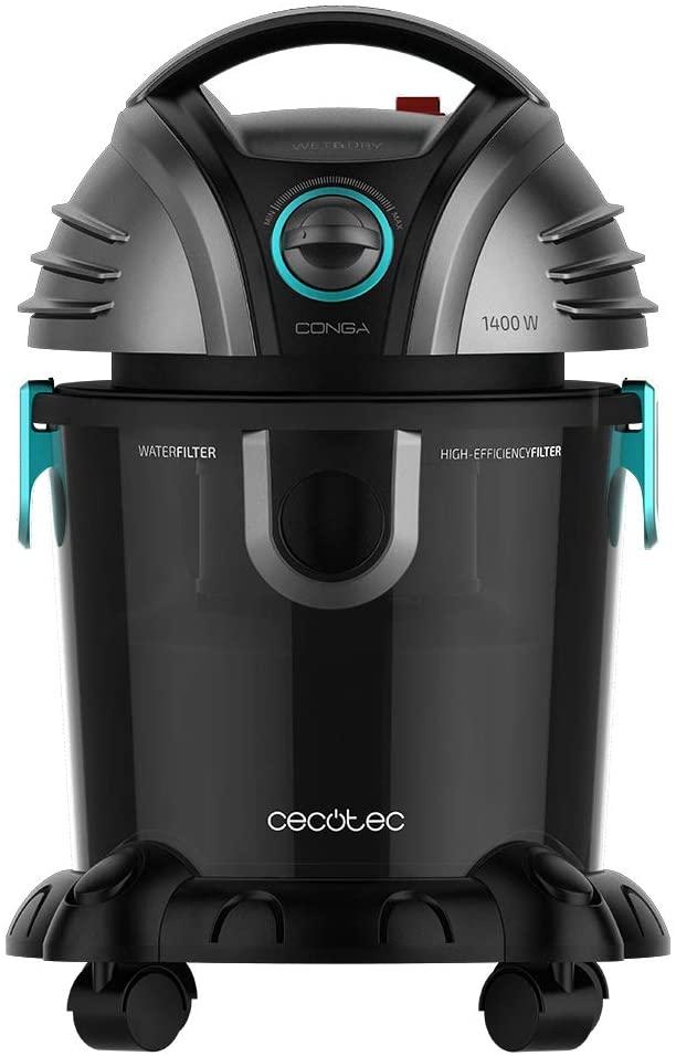 CECOTEC Aspirador de sólidos y líquidos Cecotec Conga Wet&Dry TotalClean