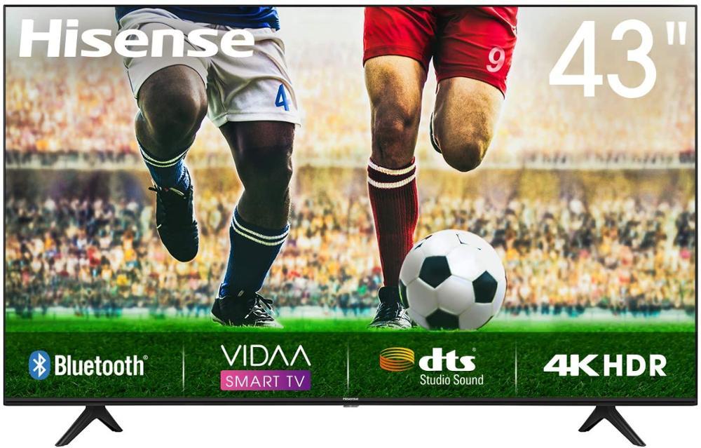 "HISENSE Televisor 43A7100F 43"" UHD 4K STV HDR10+"