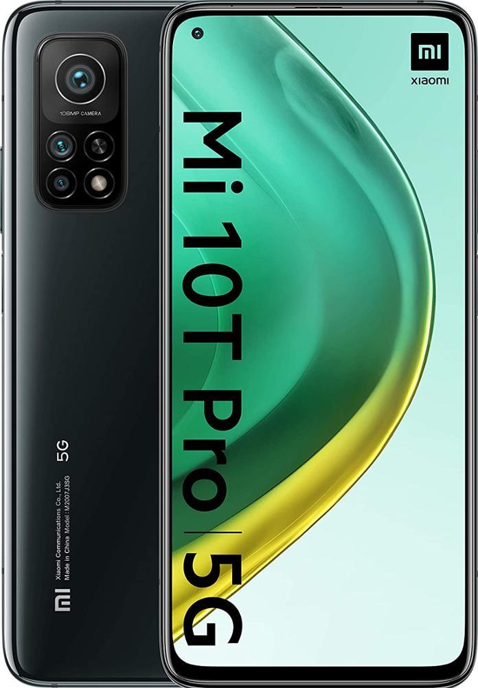 XIAOMI Smartphone Mi 10T Pro 5G 8GB 256GB Negro