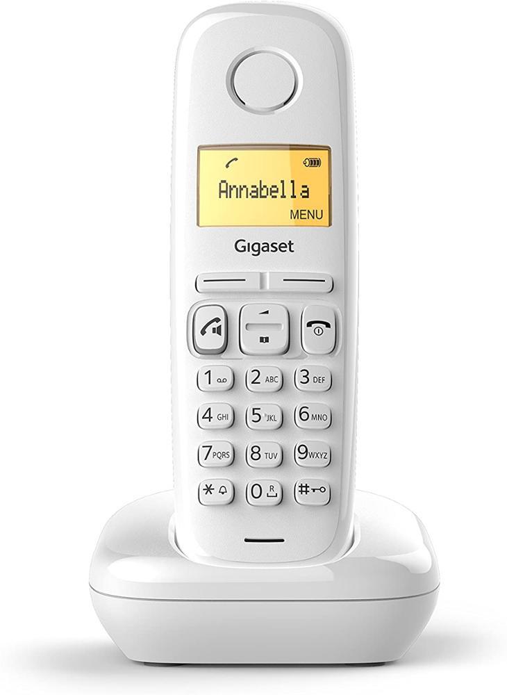 GIGASET Telefono Fijo Inalambrico A270 - Blanco