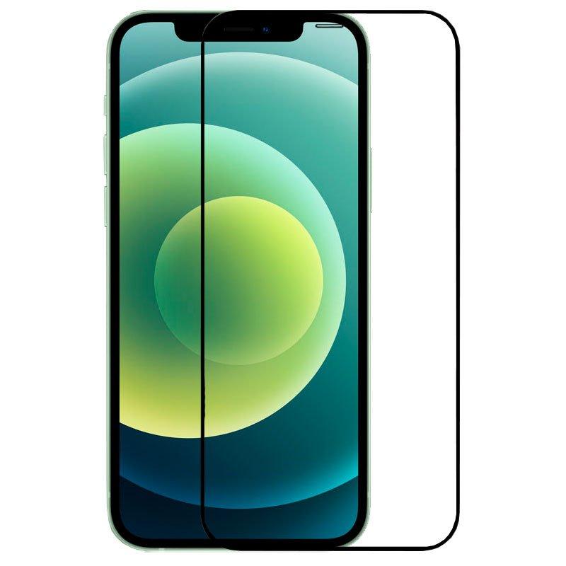 COOL Protector Pantalla Cristal Templado Iphone 12 / 12 Pro (Full 3D Negro)