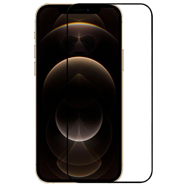 COOL Protector Pantalla Cristal Templado Iphone 12 Pro Max (Full 3D Negro)