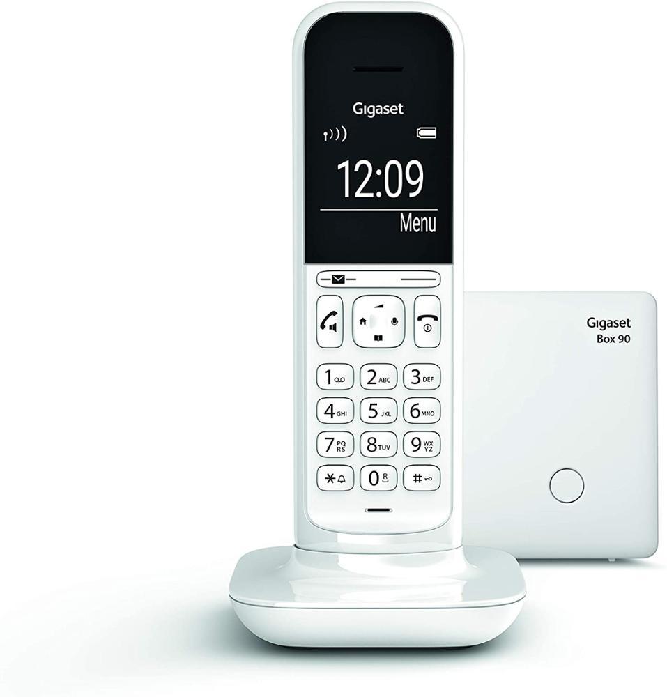 GIGASET Teléfono Fijo Inalámbrico Siemens CL390 Blanco